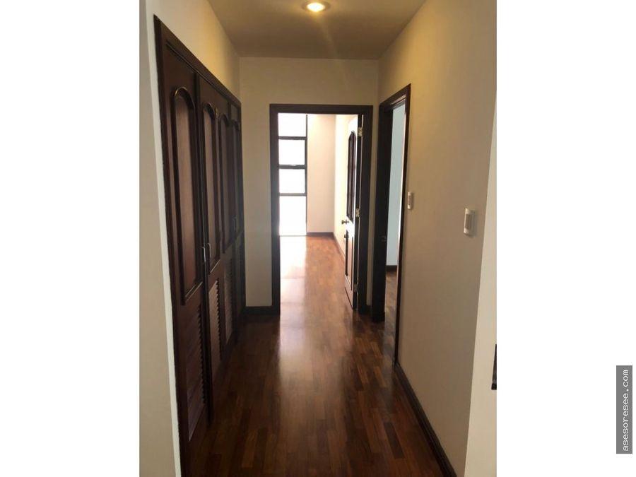 apartamento en alquiler zona 14 quinta bella