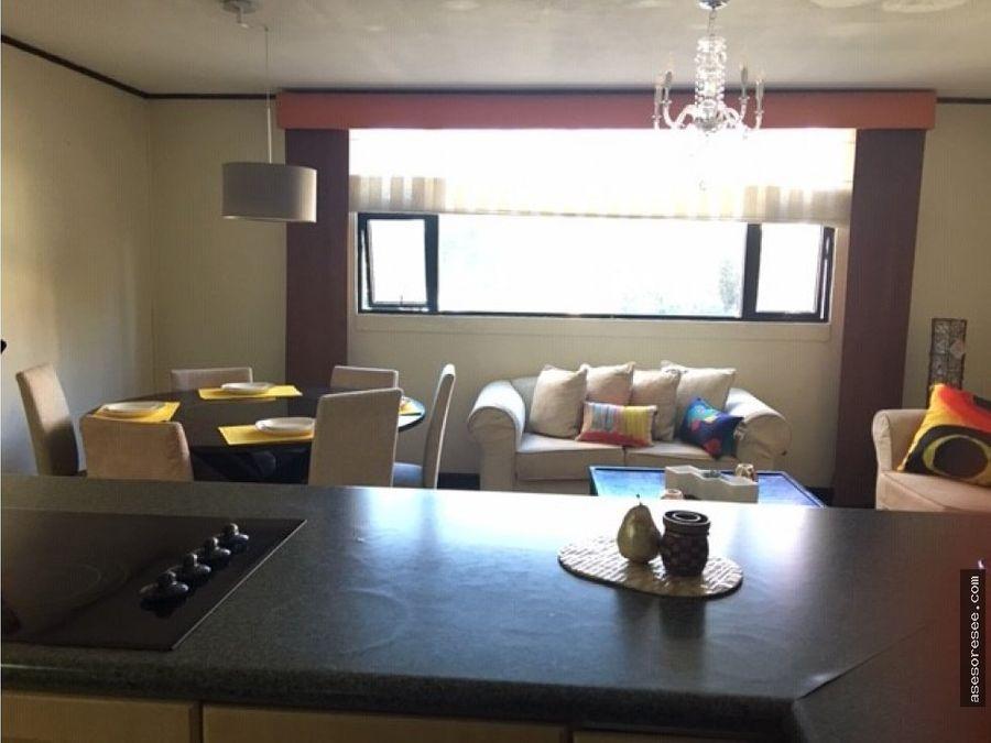 apartamento amueblado en alquiler zona 14