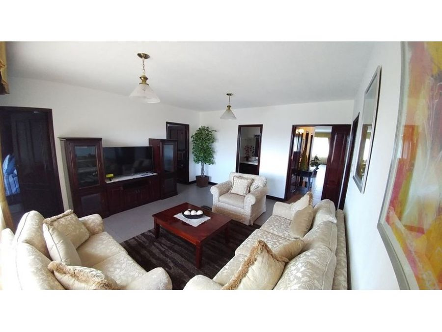 venta y alquiler de apartamento amueblado zona 15