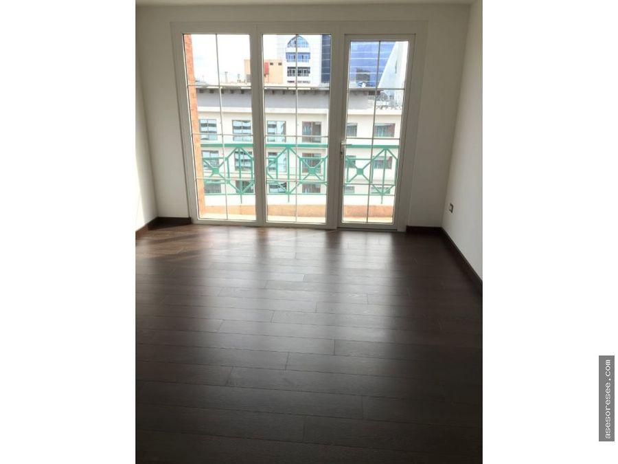 venta de apartamento zona 10 con vista a la ciudad