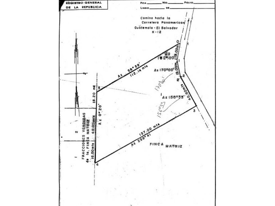 venta de terreno 12590 v2 en santa rosalia ces