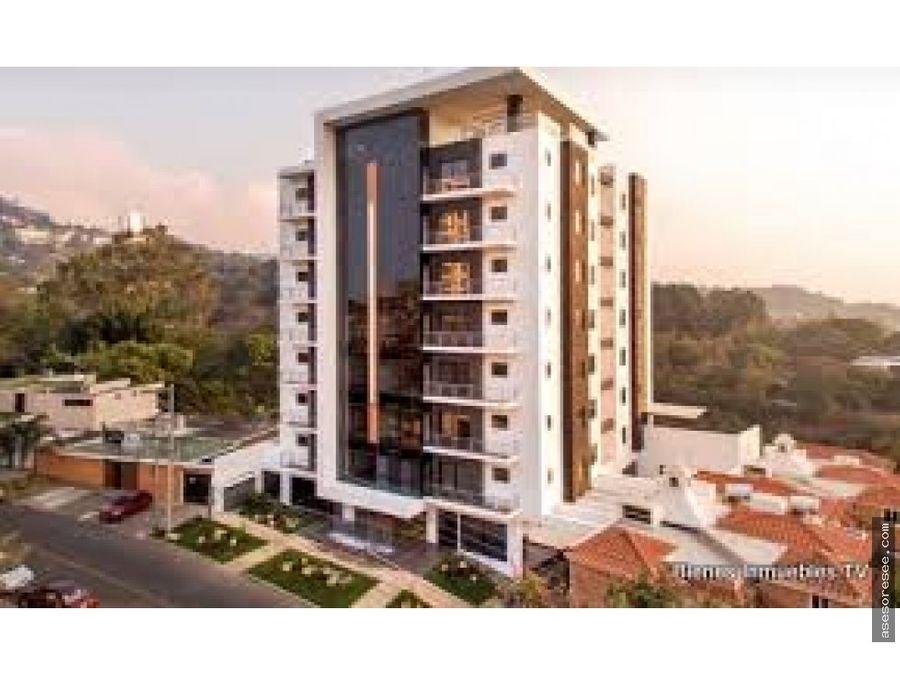 apartamento con en venta vista hermosa 2 zona 15