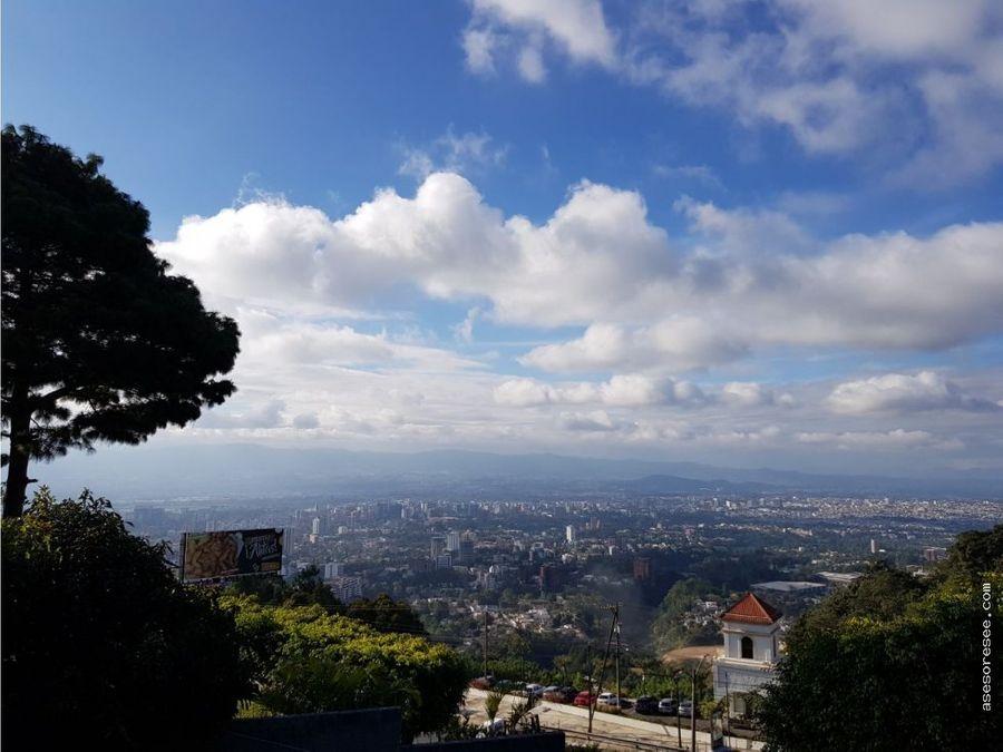 casa en venta las nubes con vista de la ciudad