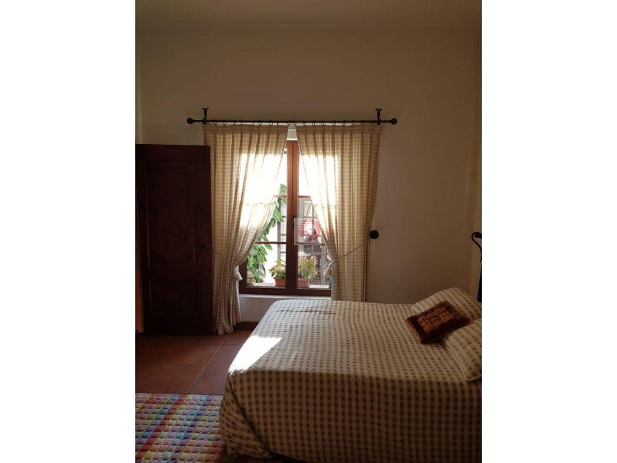 casa en venta con preciosa vista antigua guatemala