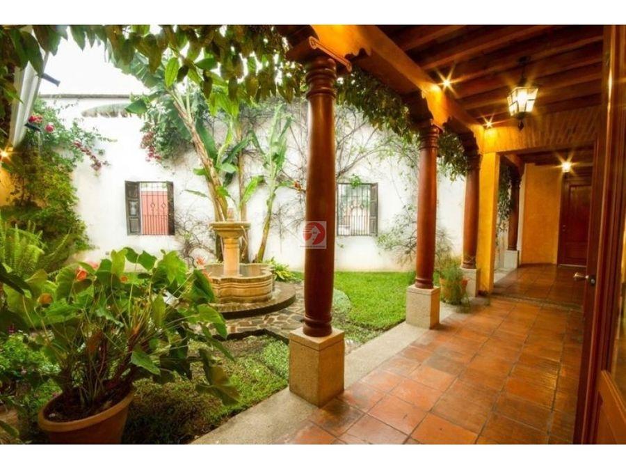 casa en antigua guatemala en venta