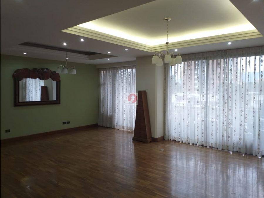 apartamento en venta en san ignacio zona 10