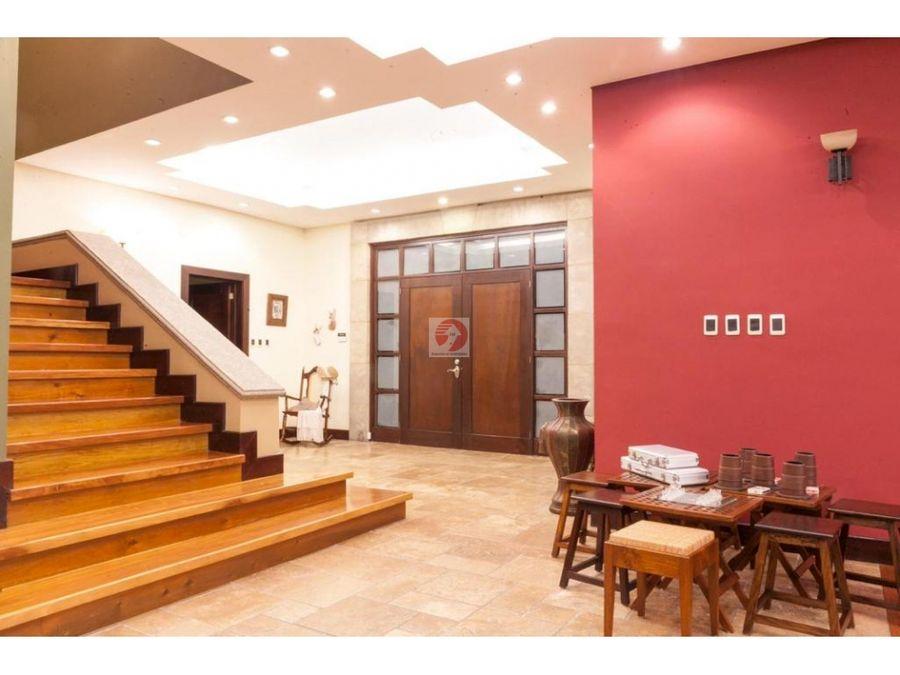 casa de 4 habitaciones en exclusivo condominio zona 16