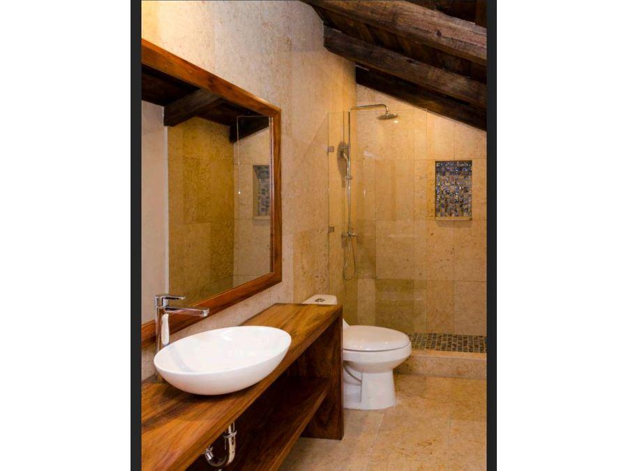 venta de casa amueblada en antigua guatemala