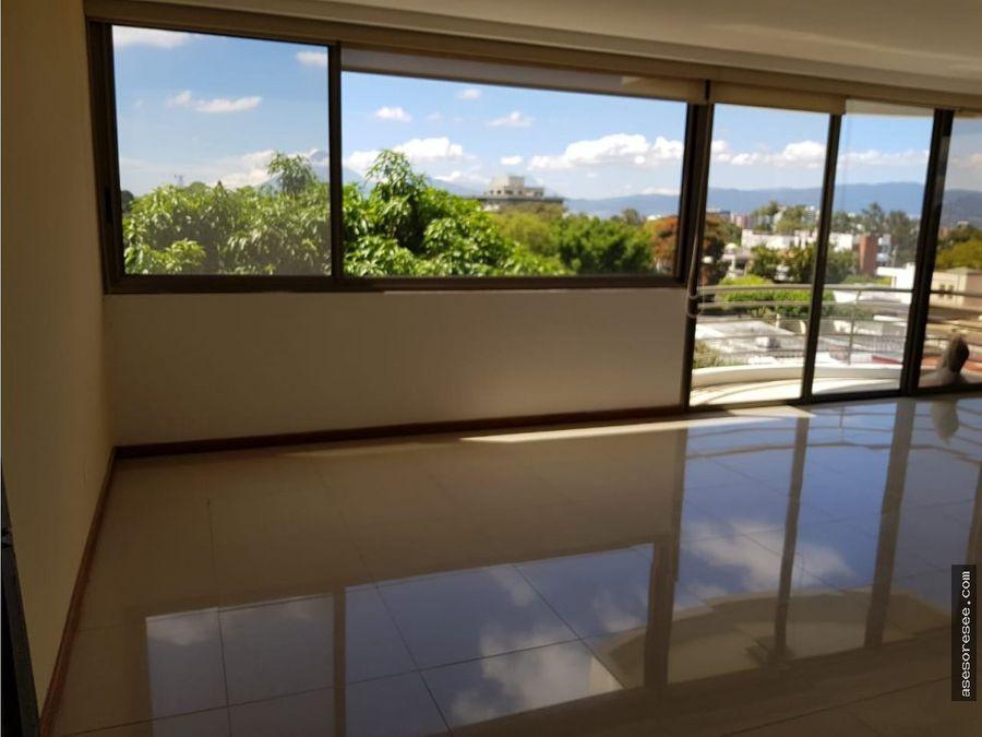 apartamento en alquiler zona 15 vista hermosa 2