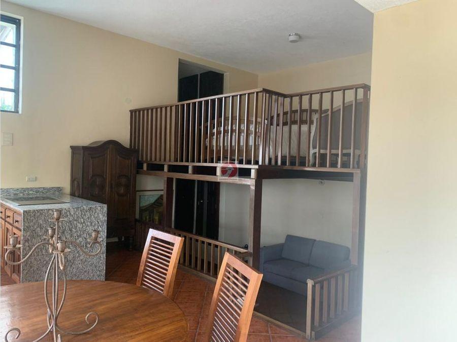 apartamento amueblado en alquiler cerca del trebol zona 15