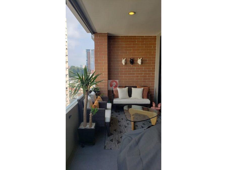 vendo apartamento en zona 14 edificio con amenidades