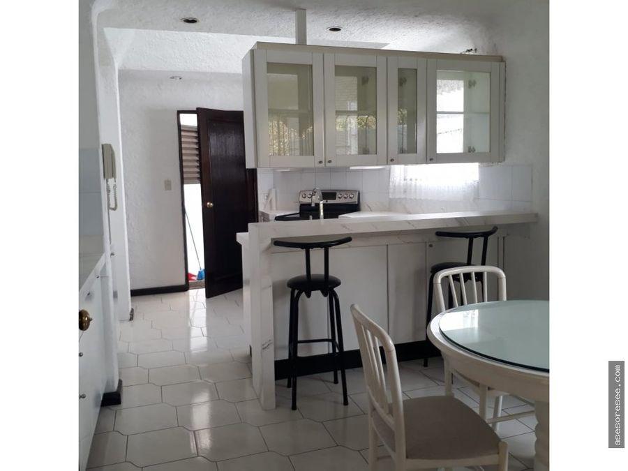 casa en alquiler zona 14 con o sin muebles