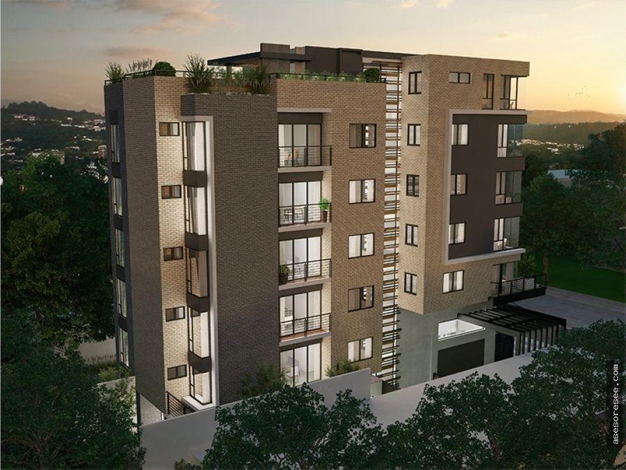 venta de apartamento en zona 15 para estrenar
