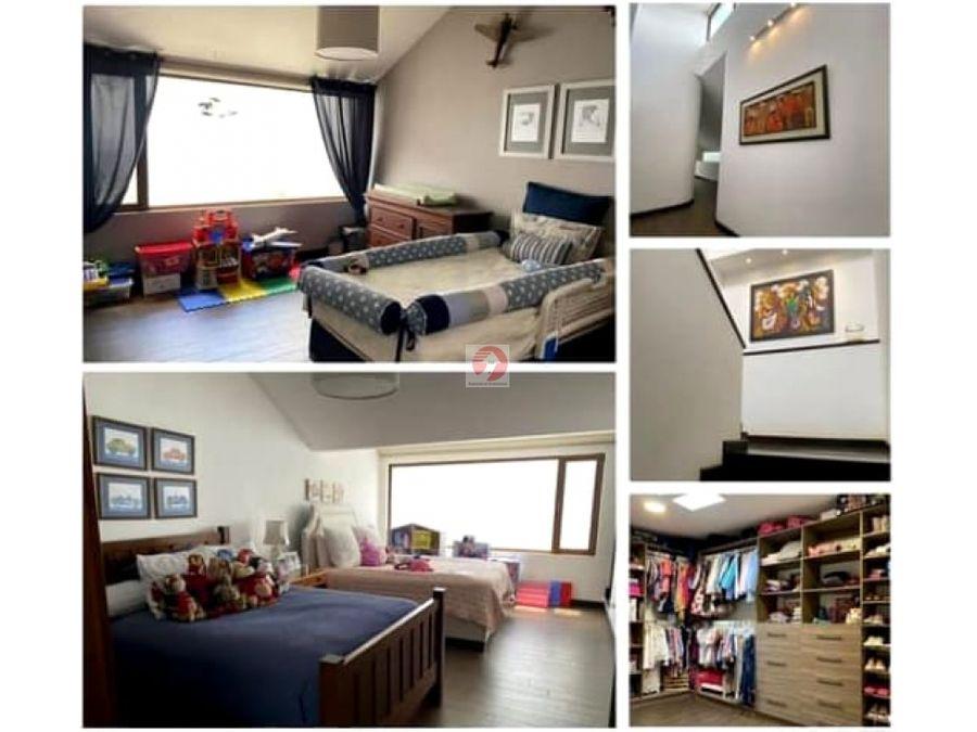 casa en alquiler de 3 habitaciones dentro de condominio zona 13