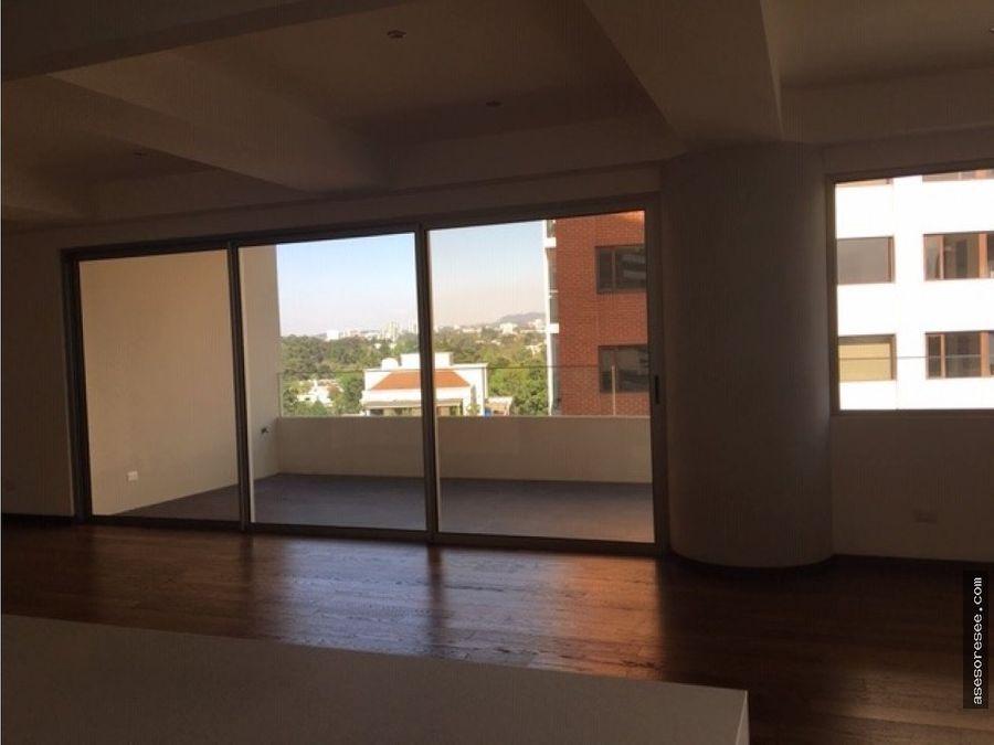 venta de apartamento sector exclusivo en zona 14