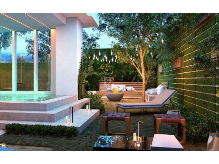 a estrenar apartamento con jardin en zona 14