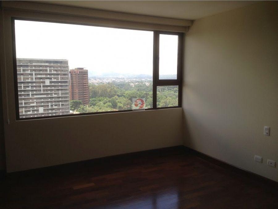 apartamento 3 habitaciones con vista sector centrico zona 10