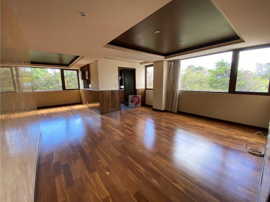 apartamento de 2 habitaciones en alquiler zona 10