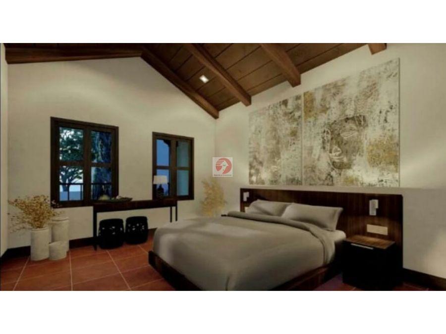 casa a estrenar de 4 dormitorios en antigua guatemala