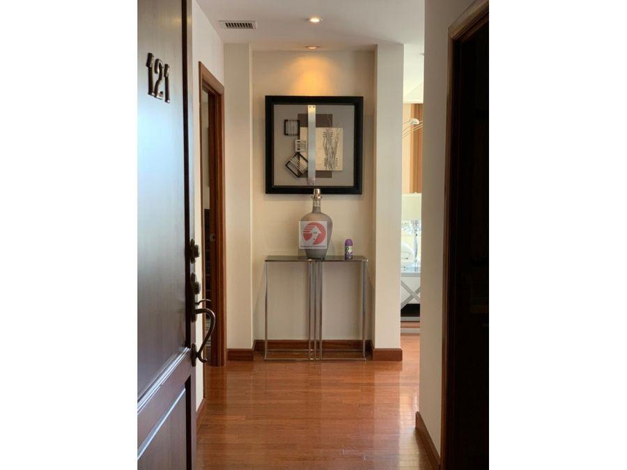 renta de apartamento amueblado en zona 14