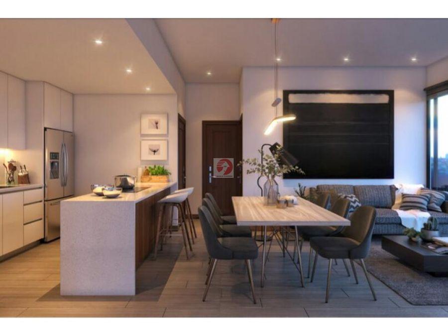 apartamento a estrenar en venta zona 14 2 dormitorios