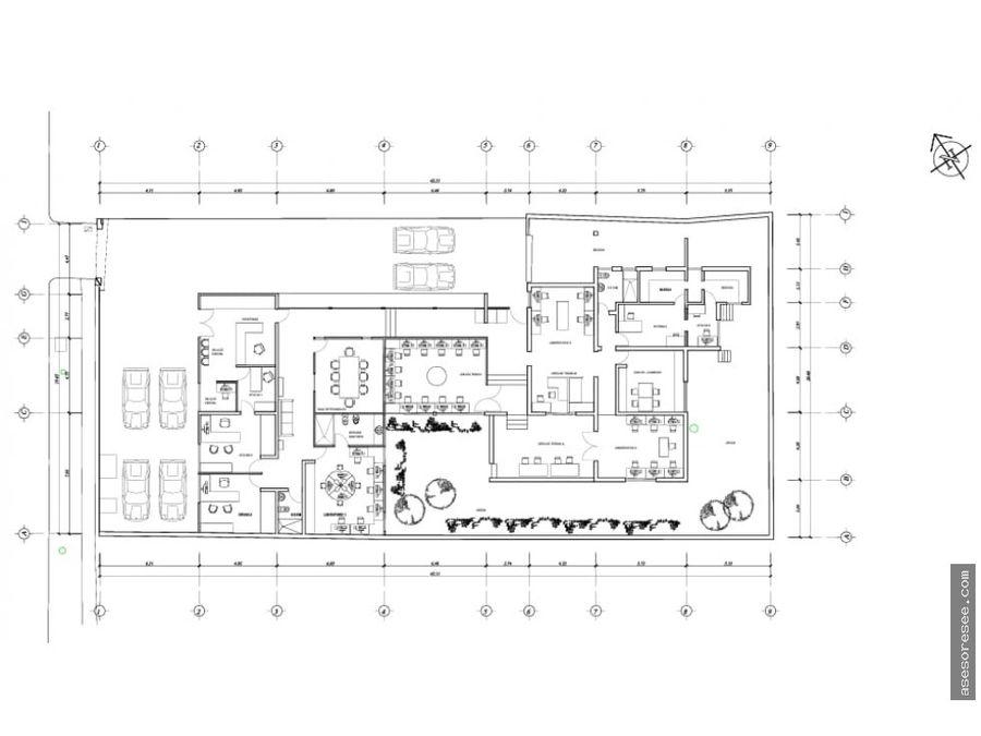 casa en alquiler zona 14 para oficina