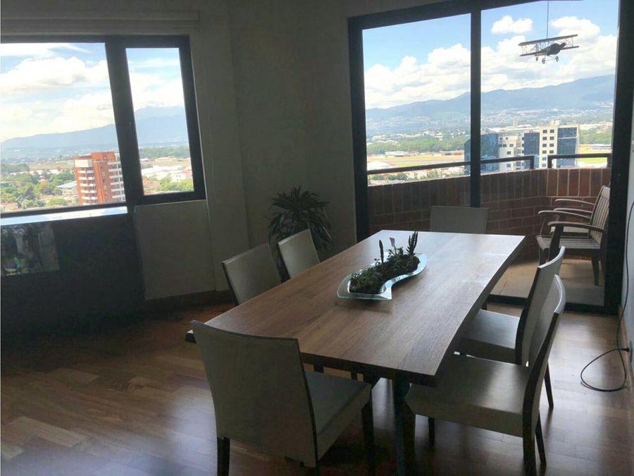 apartamento sector exclusivo en venta zona 14
