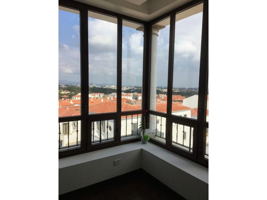 apartamento amueblado en alquiler cayala z16