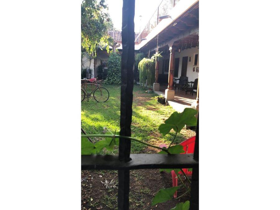 casa en venta y alquiler a minutos de antigua guatemala