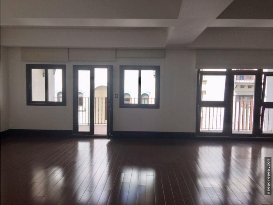 venta y alquiler apartamento en zona 16