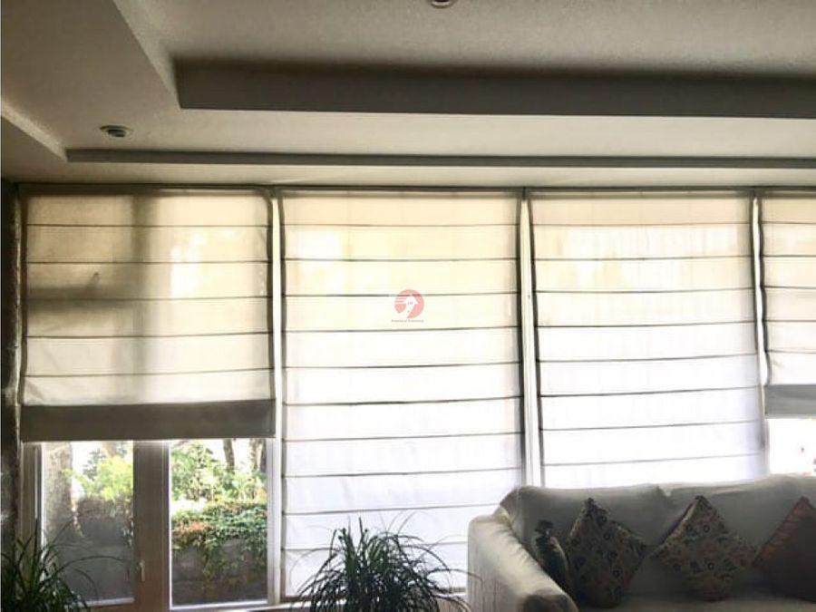 apartamento amueblado en alquiler y venta zona 14