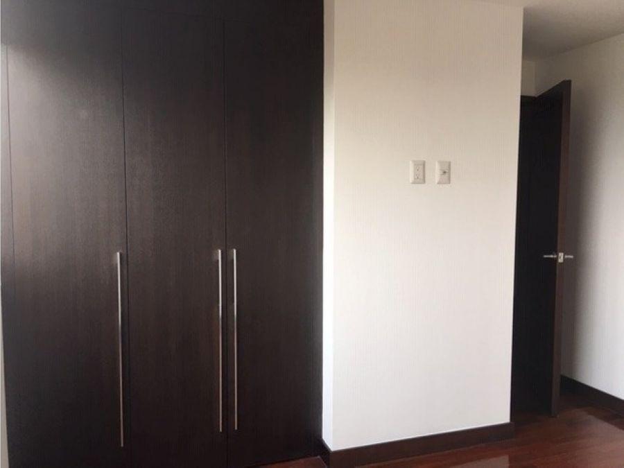 apartamento en alquiler zona 14 sector exclusivo