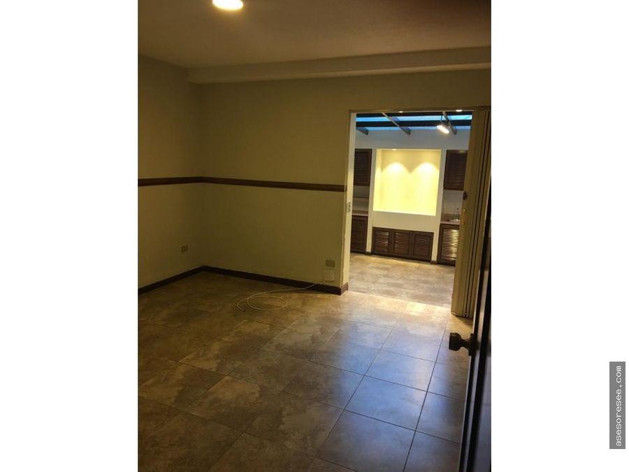 apartamento en alquiler zona 14 remodelado