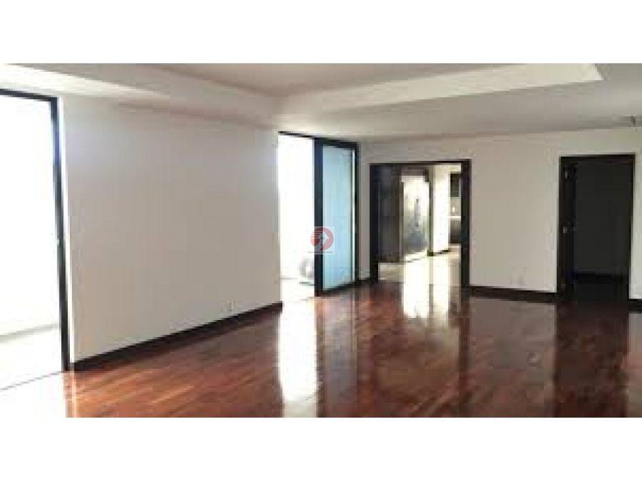 venta de apartamento con vista en exclusivo sector zona 14