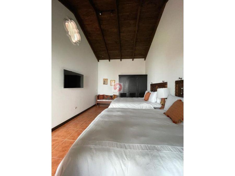 venta de casa en condominio el casco antigua guatemala