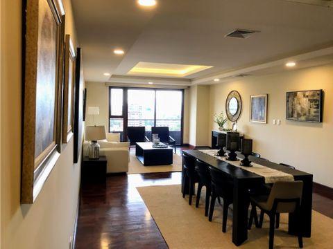 apartamento en renta de lujo con vista preciosa zona 10