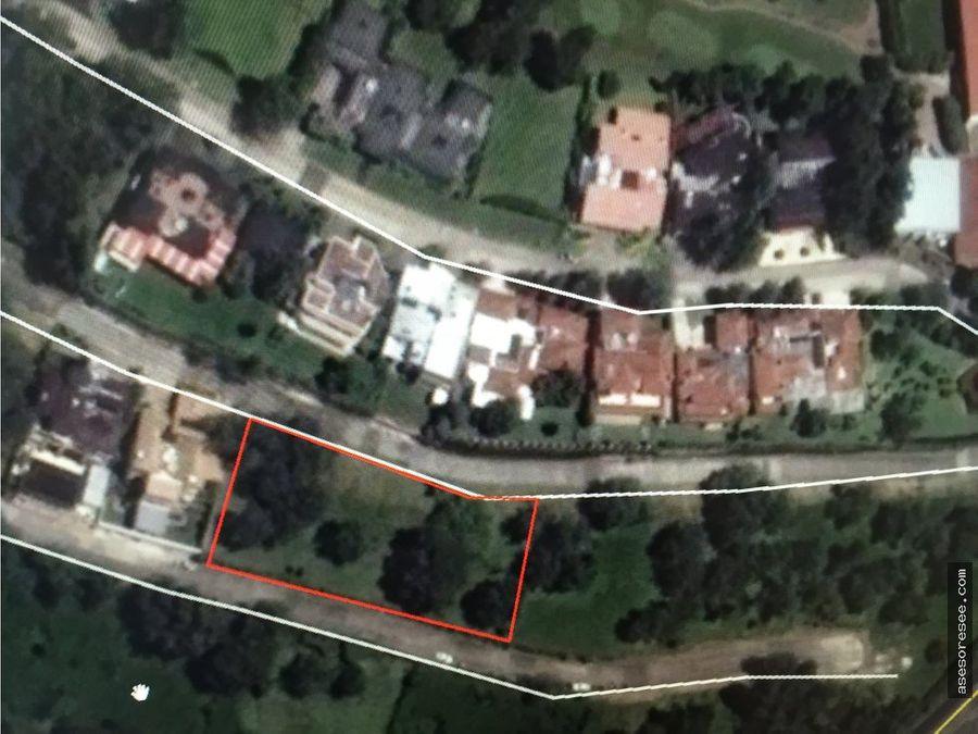 venta de terreno en zona 16 en condominio