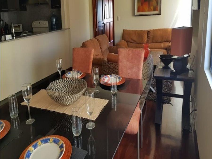 alquiler apartamento amueblado en zona 14
