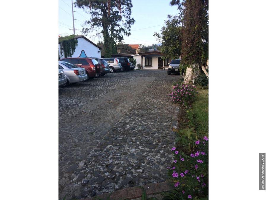 venta de casa en condominio antigua guatemala