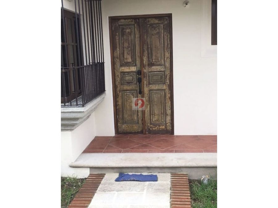 para estrenar casa en venta antigua guatemala