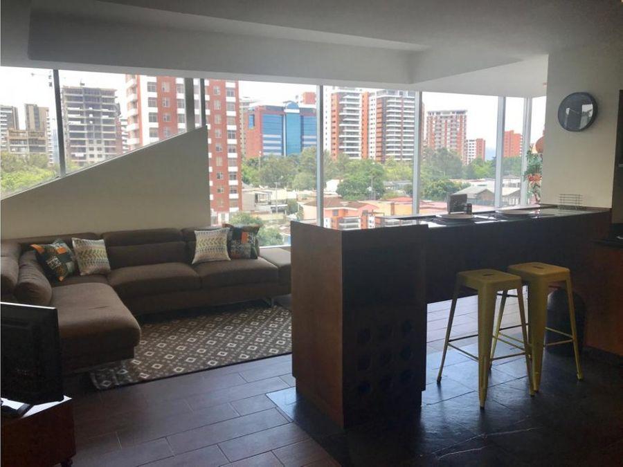 alquiler de apartamento amueblado en zona 13