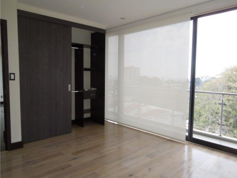 apartamento en alquiler zona 15