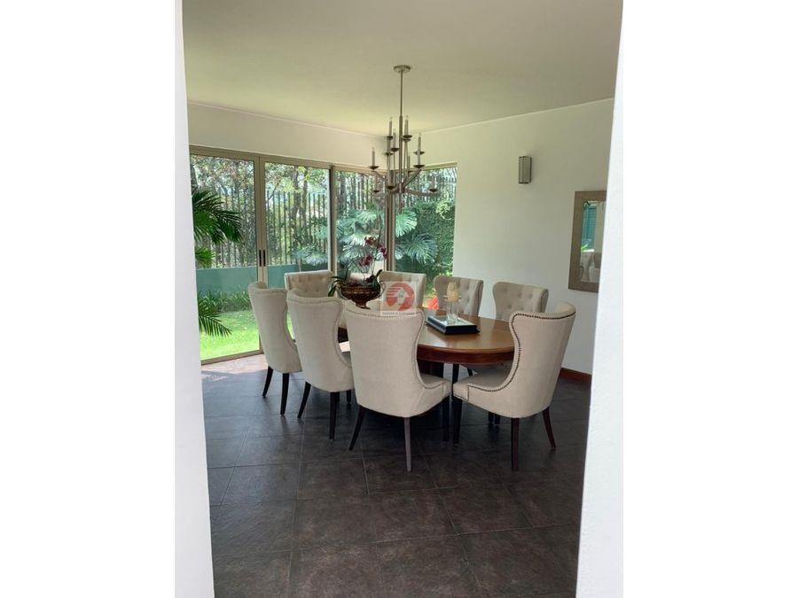 venta casa moderna de 4 habitaciones condominio exclusivo zona 16