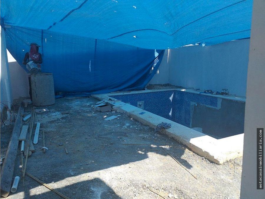 casas con piscina y gazebo rescerrado san i