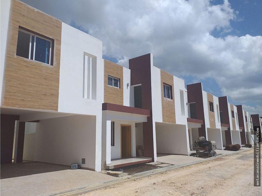 casas en res cerrado con areas sociales san isidro