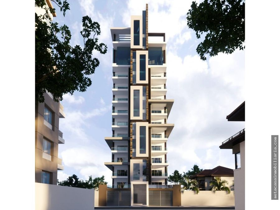 imponente y moderna torre de aptos alma rosa i