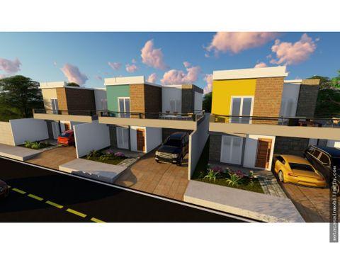 casas individuales de 2 niveles en san isidro