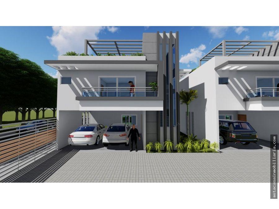 proyecto cerrado solo 3 casas prado oriental