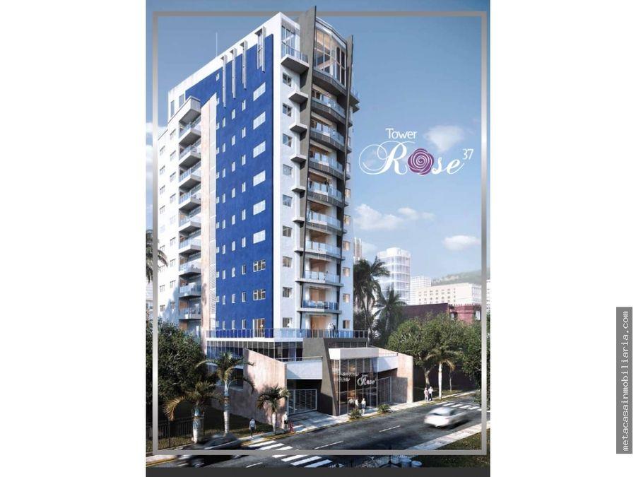 torre comoda y exclusiva en alma rosa i aptos de 120 y 150mts