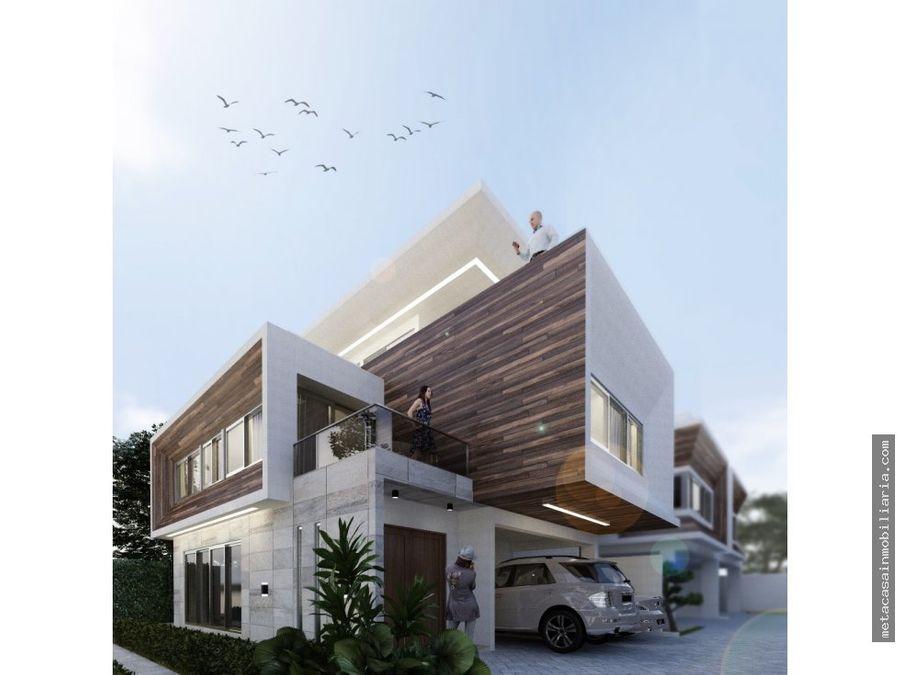 rescerrado casas de 3 niveles prado oriental